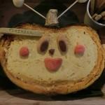 もにたんカボチャチーズケーーキ